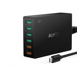 AUKEY Ładowarka 6x USB PA-T11 Quick Charge 3.0 60W